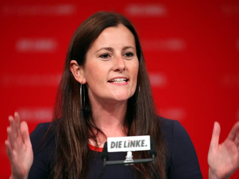 Linken Chefin Wissler Fordert Staerkere Investitionen In Klimaschutz