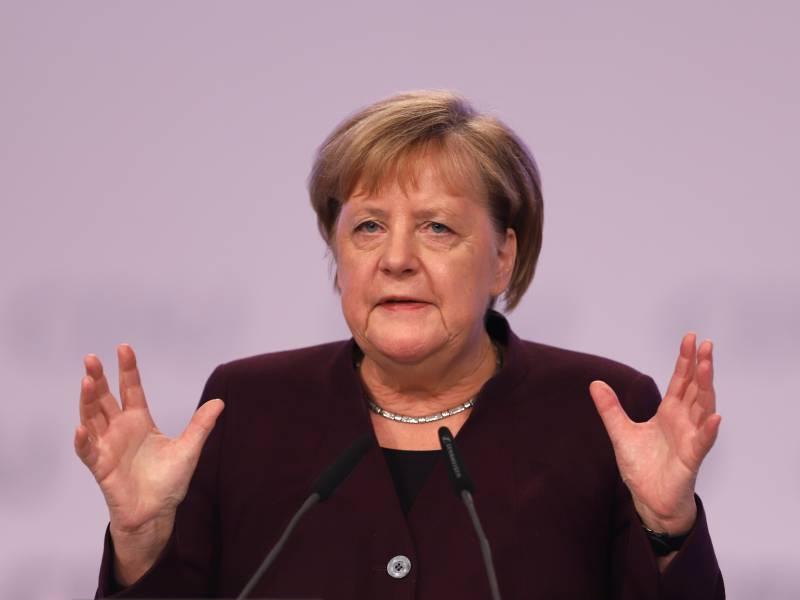 Merkel Verteidigt Klimapolitische Bilanz
