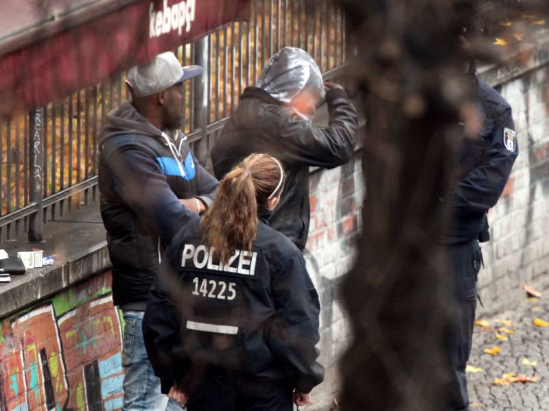 Rauschgiftkriminalitaet Steigt Weiter An