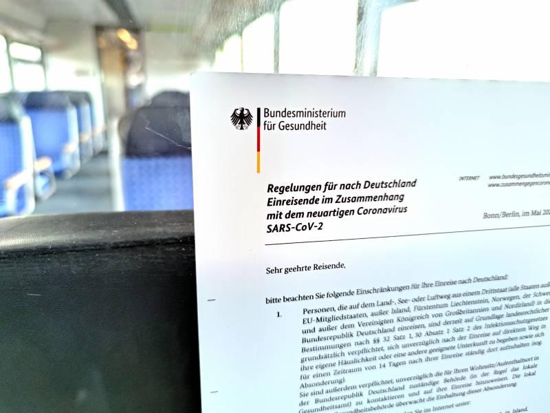Regierung Einigt Sich Auf Testpflicht Fuer Einreisende Ab 1 August