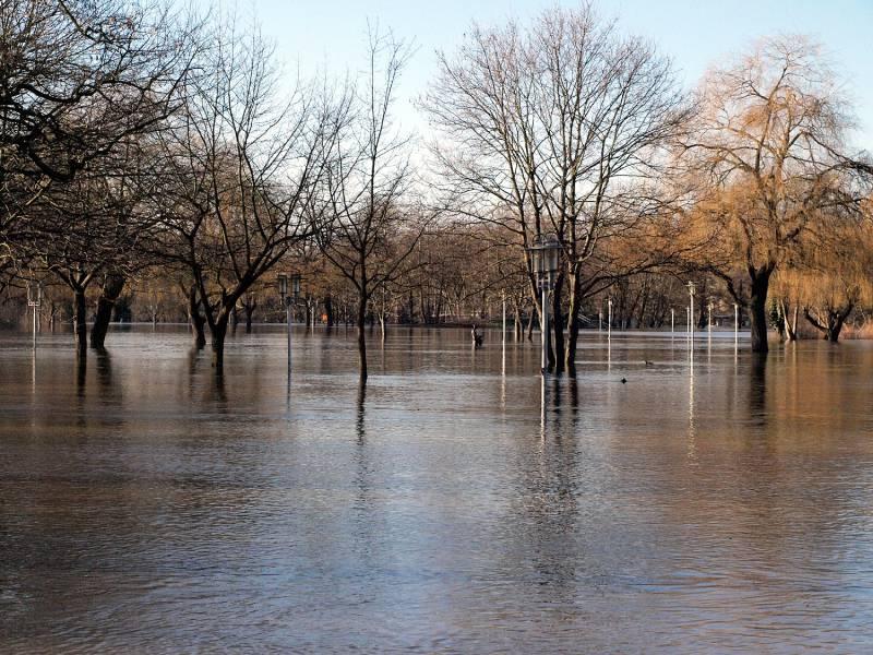 Trittin Verlangt Massive Aenderungen Im Hochwasserschutz