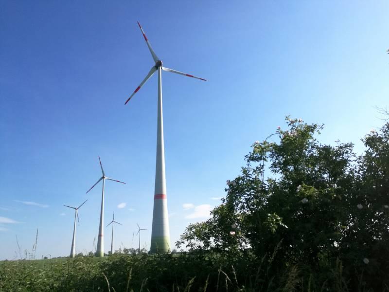 Windrad Ausbau Beschleunigt Sich