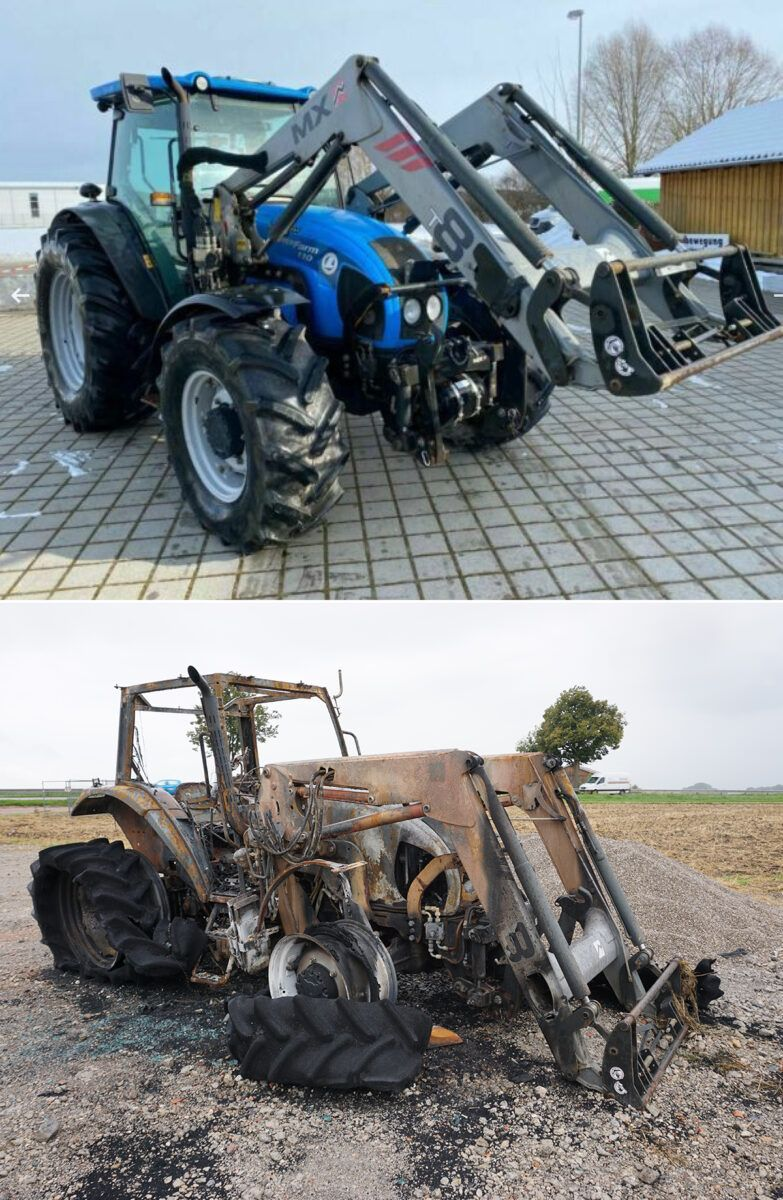 210827 Traktor Vorher Nachher