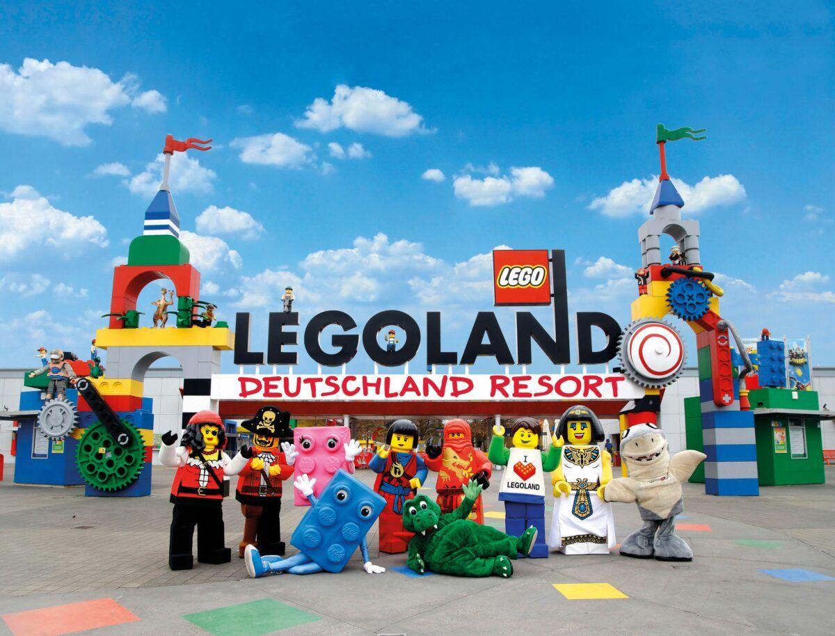 Legoland Eingang Lego Vidiyo Festival