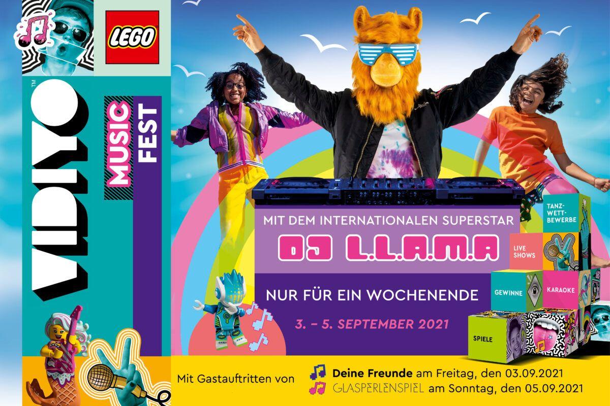 Legoland Lego Vidiyo Festival