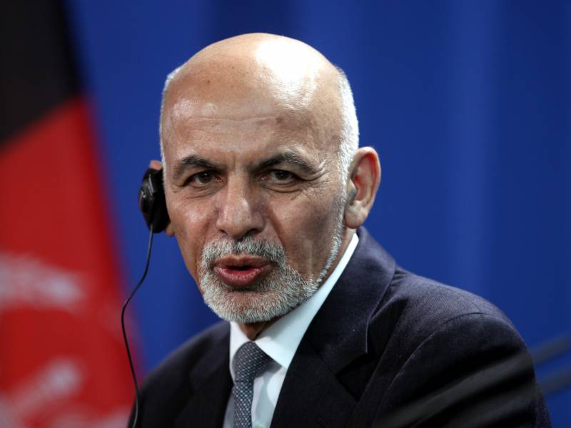 Afghanistans Bisheriger Praesident In Abu Dhabi Im