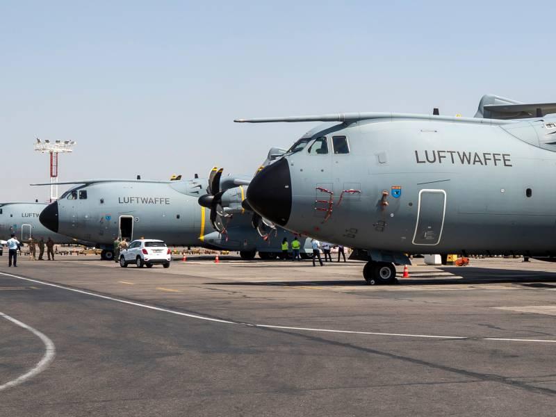 Bericht Bundeswehr Luftbruecke Koennte Schon Am Freitag Enden