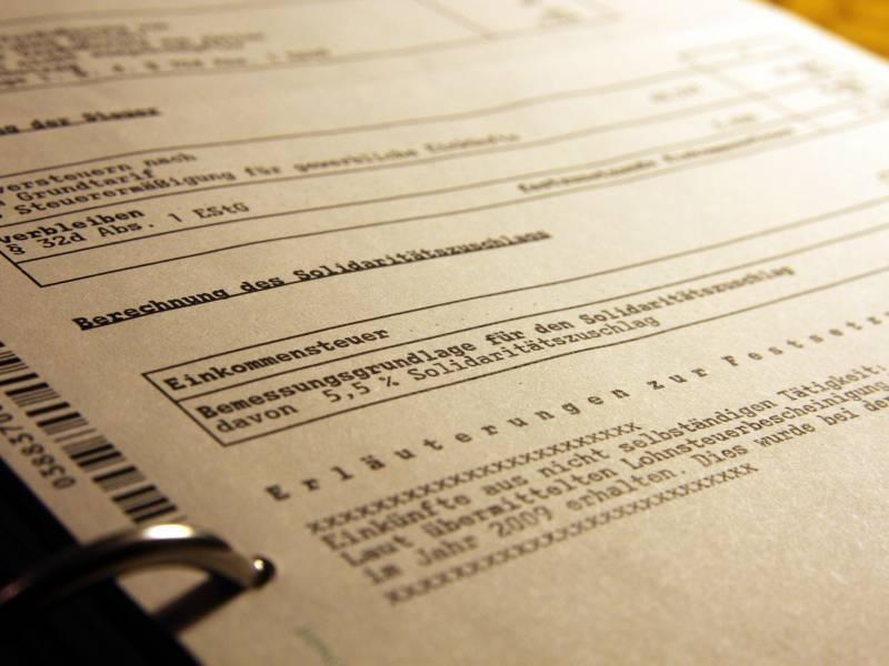Bund Der Steuerzahler Fuer Halbierung Der Steuerzinsen
