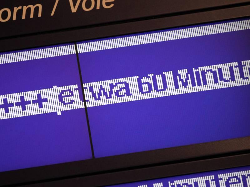 Deutsche Bahn Erneut Mit Notfahrplan Waehrend Gdl Streik