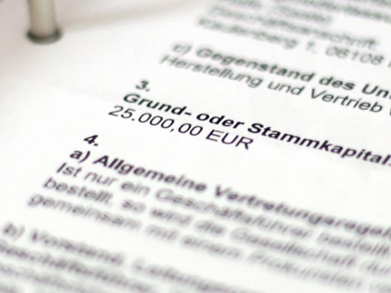 Deutschland Nahezu Schlusslicht Bei Neugruendungen Von Firmen