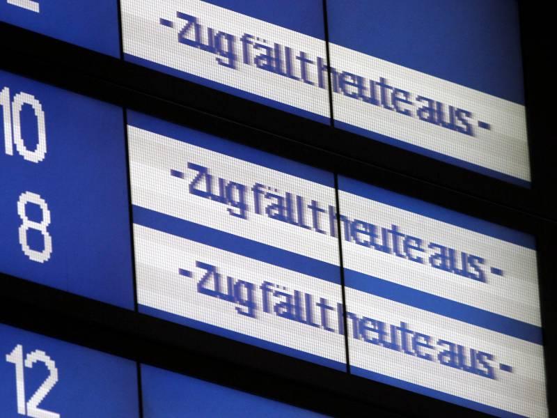 Fahrgastverband Erwartet Chaos Im Bahnverkehr