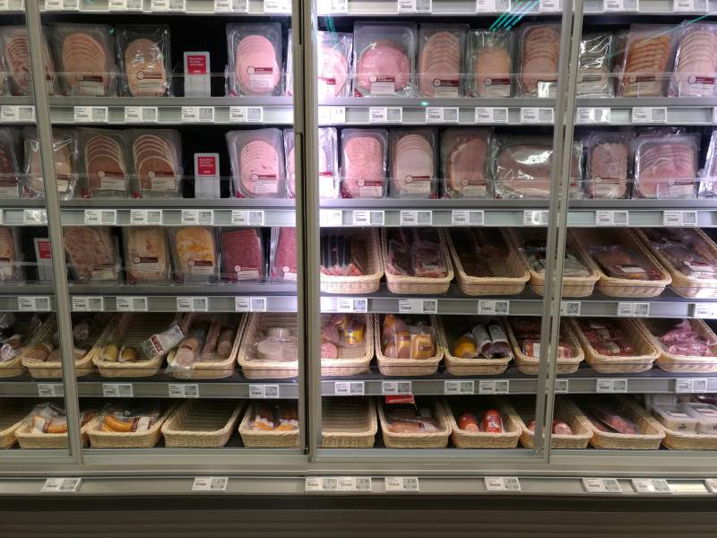 Fleischproduktion Geht Zurueck