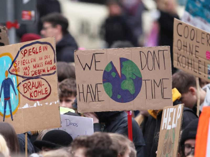 Fridays For Future Nennt Alle Parteien Beim Klimaschutz Verlogen