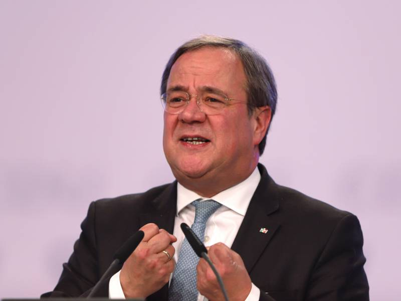 Laschet Ruft Union Bei Wahlkampfauftakt Zur Geschlossenheit Auf