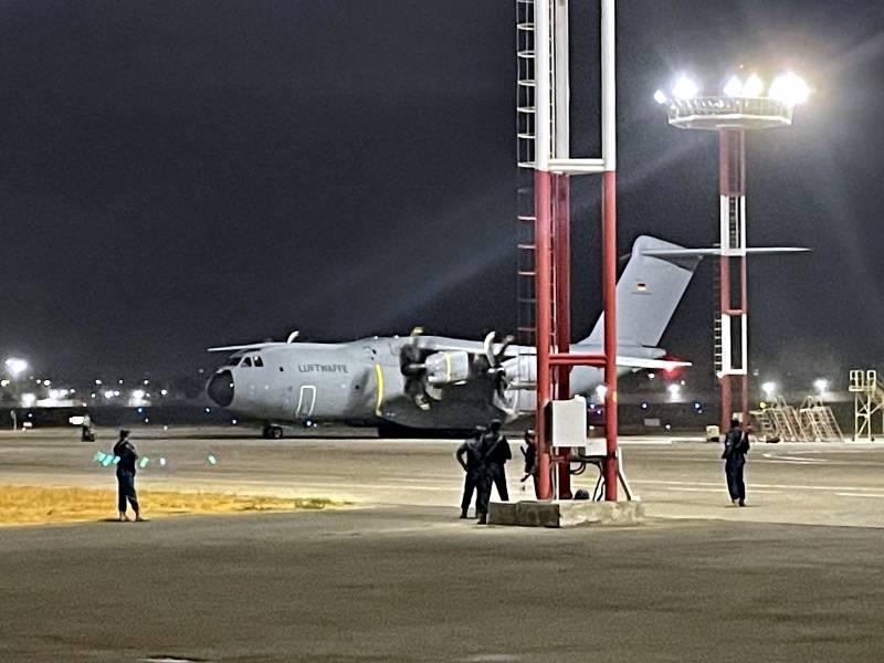 Maas Die Militaerische Evakuierung Ist Nun Beendet
