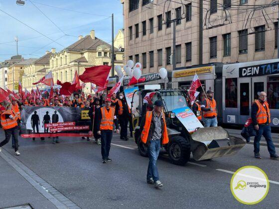 Bauarbeiterdemo Augsburg10
