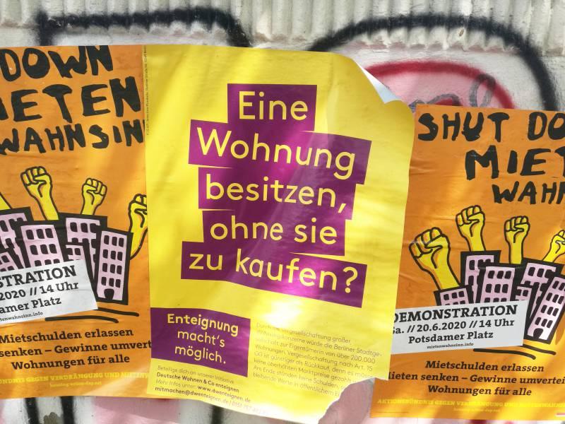 Berliner Stimmen Fuer Enteignung Von Immobilienkonzernen