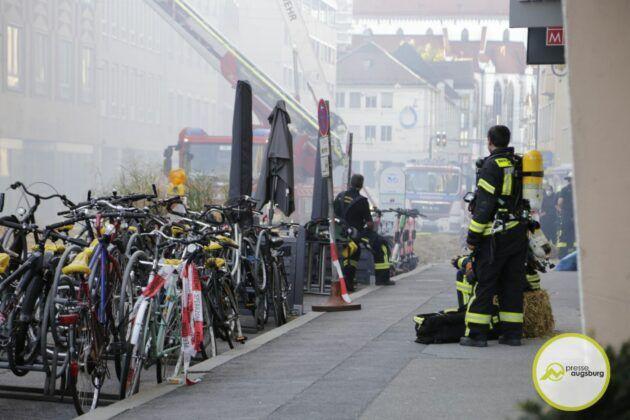 Brand Karolinenstrasse34