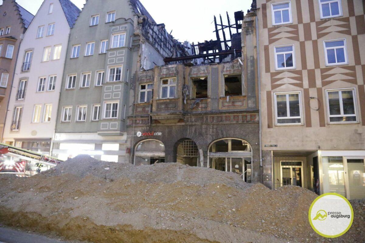 Brandruine Karolinenstrasse24