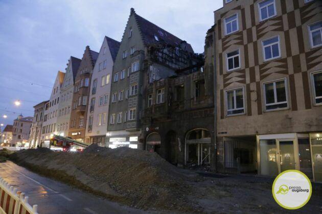 Brandruine Karolinenstrasse26