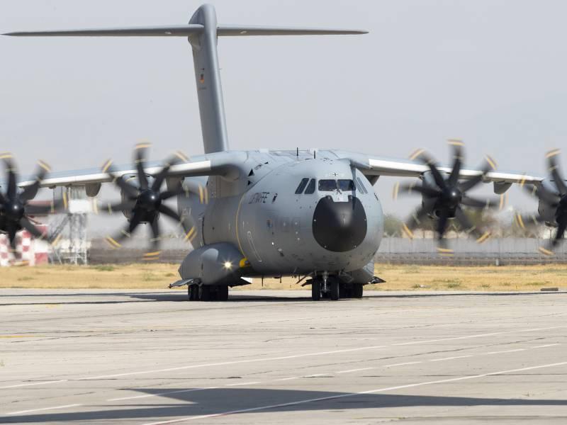 Bundeswehr Pilot Sah Flugzeugkollision Als Groesste Gefahr In Kabul