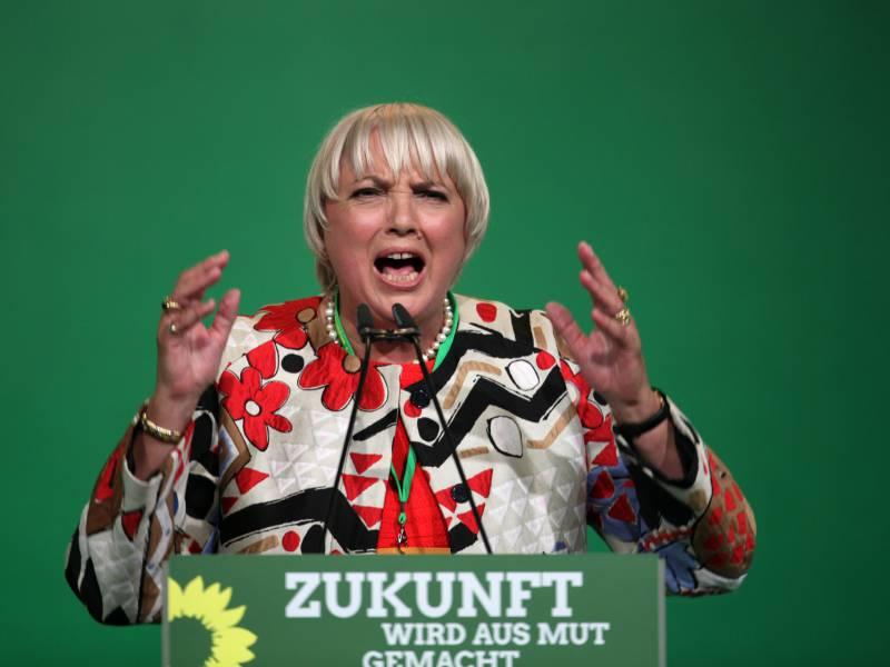 Claudia Roth Gibt Sich Trotz Umfragetief Optimistisch