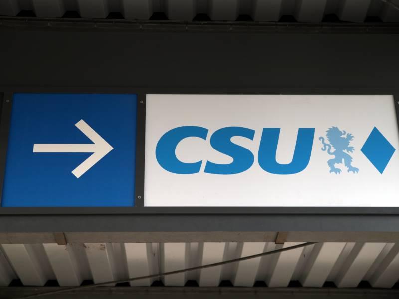 Csu Lehnt Juniorpartnerschaft In Bundesregierung Ab