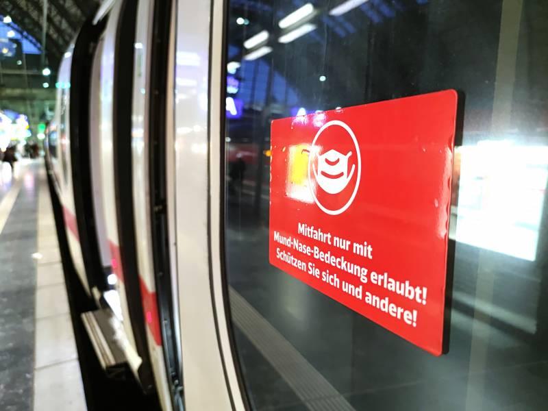 Fast 230 000 Verstoesse Gegen Maskenpflicht Im Bahnverkehr 2021
