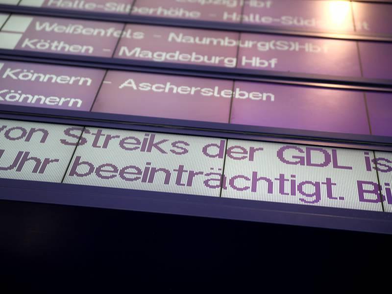 Gdl Streik Geht Weiter Bahn Meldet Stabilen Betriebsstart