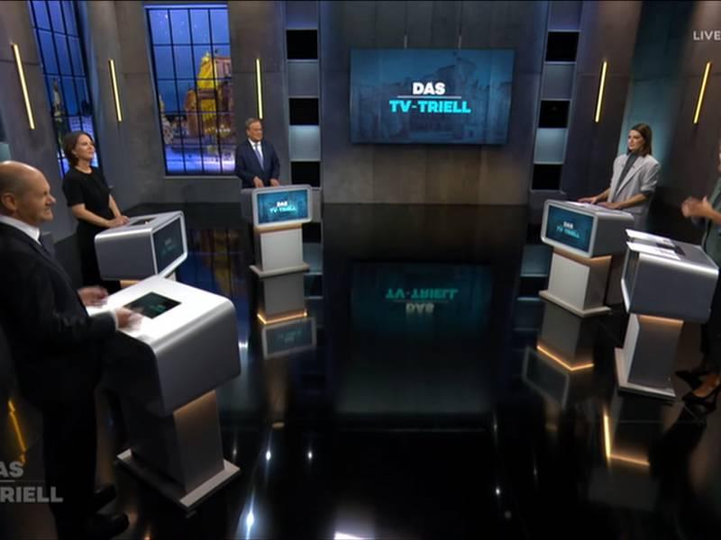 Keine Ueberraschungen Bei Letztem Tv Triell Vor Der Wahl