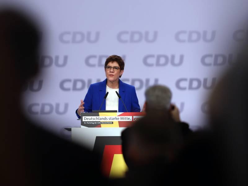 Kramp Karrenbauer Erwartet Konsequente Analyse Von Unions Fehlern