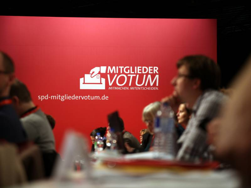 Kuehnert Erwartet Spd Mitgliederbefragung Ueber Koalitionsvertrag