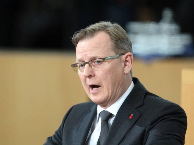 Ramelow Wirbt Fuer Rot Rot Gruen Auf Bundesebene
