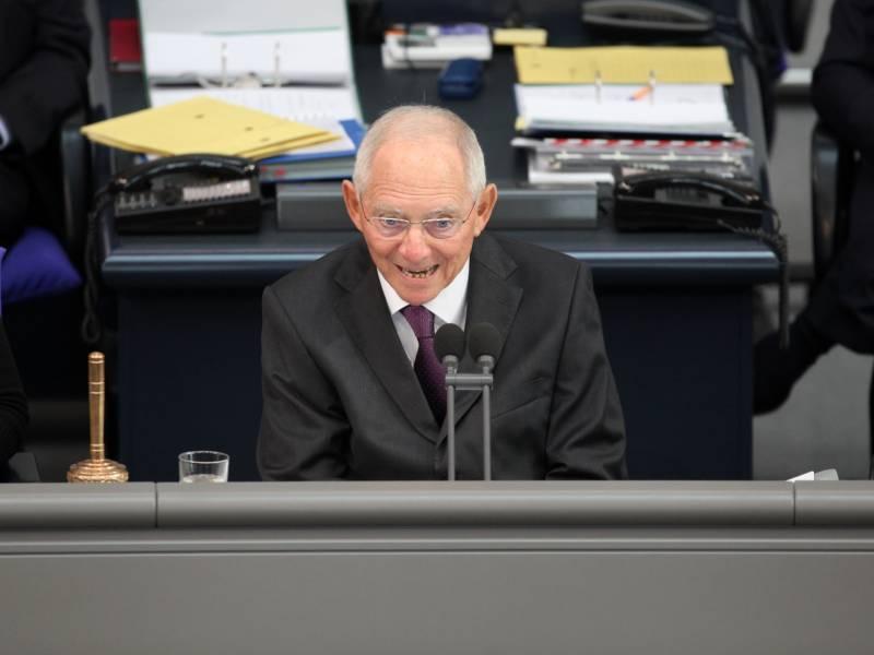 Schaeuble Will Bundestagspraesident Bleiben