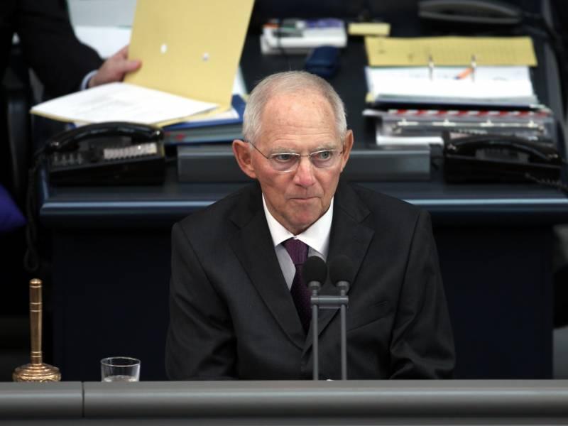 Schaeuble Wuerde Nach Der Wahl Gerne Bundestagspraesident Bleiben