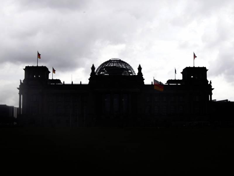 Schlagabtausch Der Kanzlerkandidaten Im Bundestag