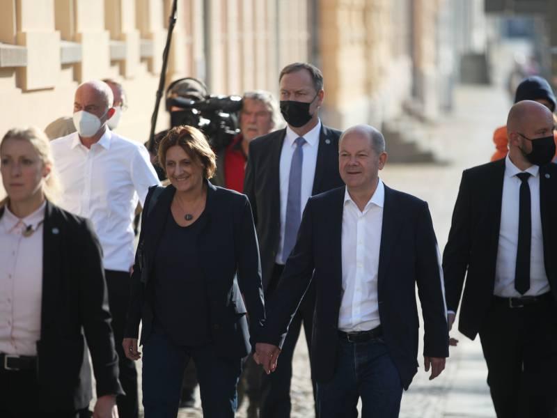 Scholz Gewinnt Auch Direktwahl Duell Gegen Baerbock