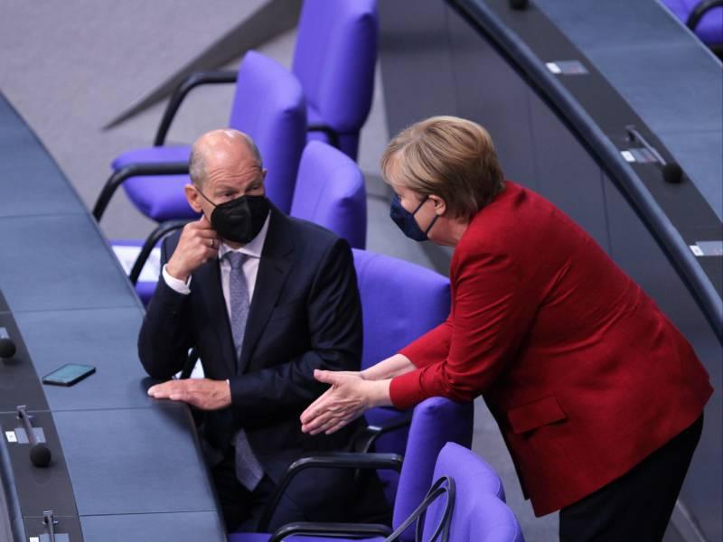 Scholz Merkel Wird Zu Recht Geschaetzt