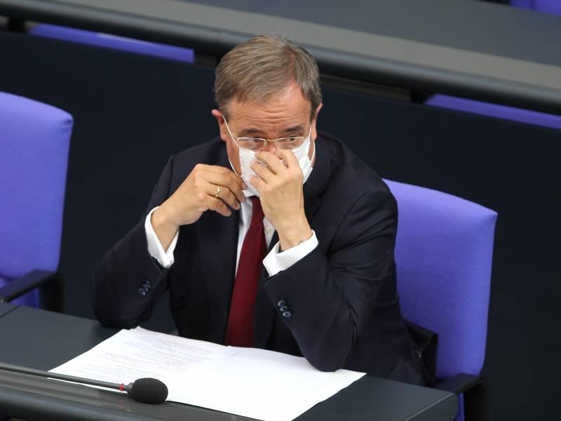 Spd Generalsekretaer Bezichtigt Laschet Der Luege