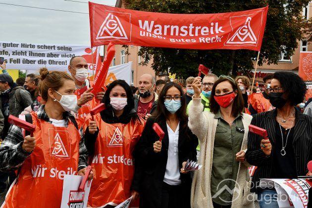 Streik Augsburg 005