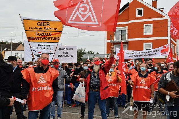 Streik Augsburg 009