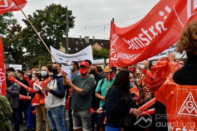 Streik Augsburg 010