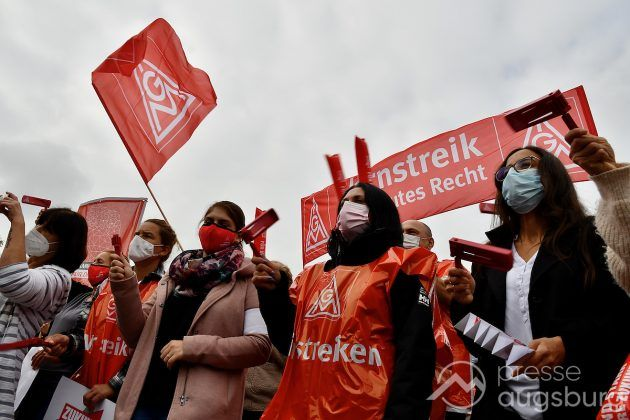 Streik Augsburg 040