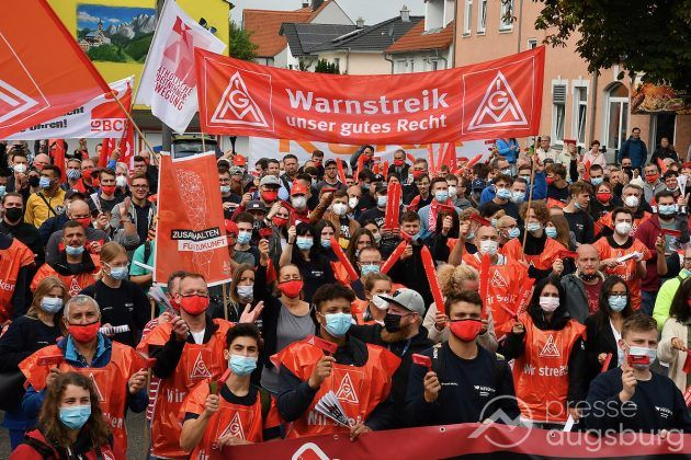 Streik Augsburg 048