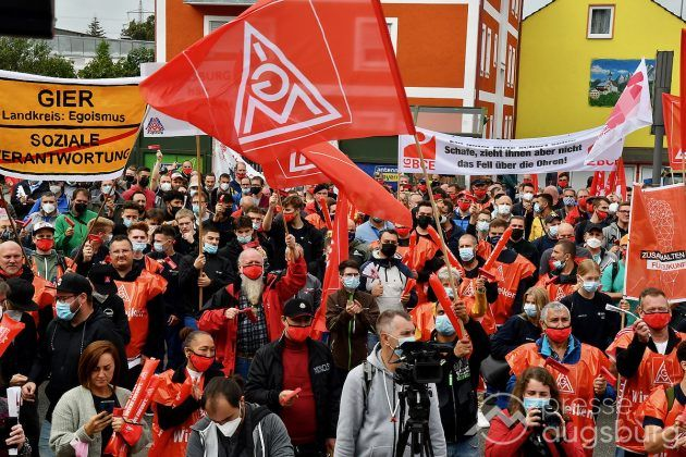 Streik Augsburg 050