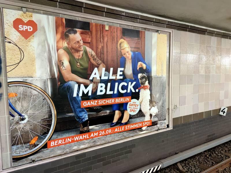 Umfrage Spd Setzt Sich In Berlin Von Cdu Ab