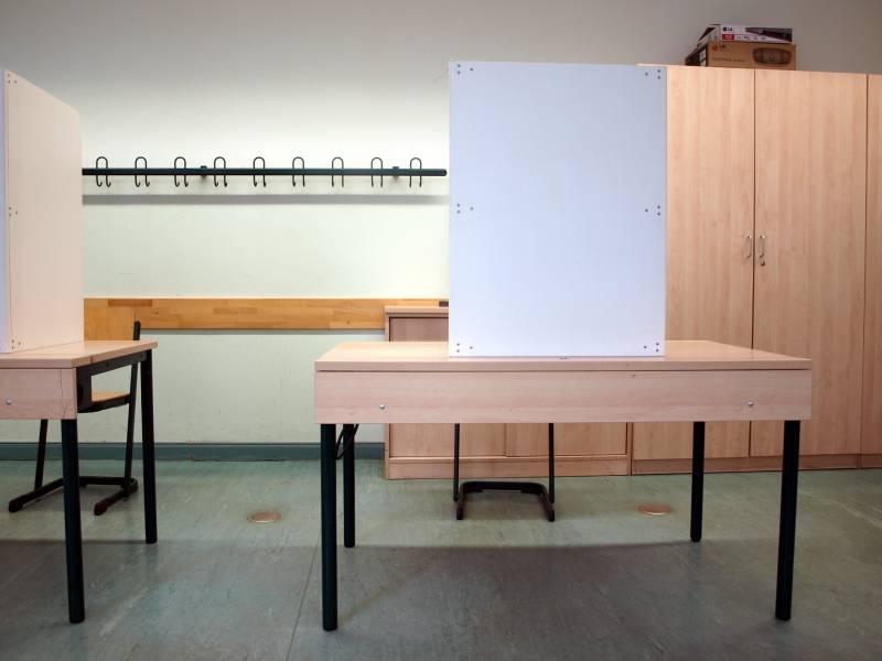 Wahllokale Fuer Bundestagswahl Geoeffnet