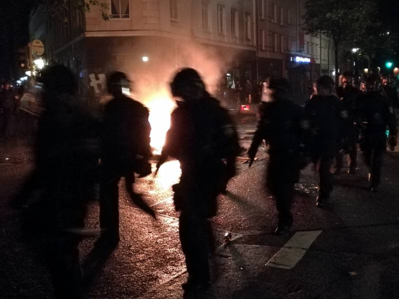 Wissler Distanziert Sich Von Linksextremer Gewalt