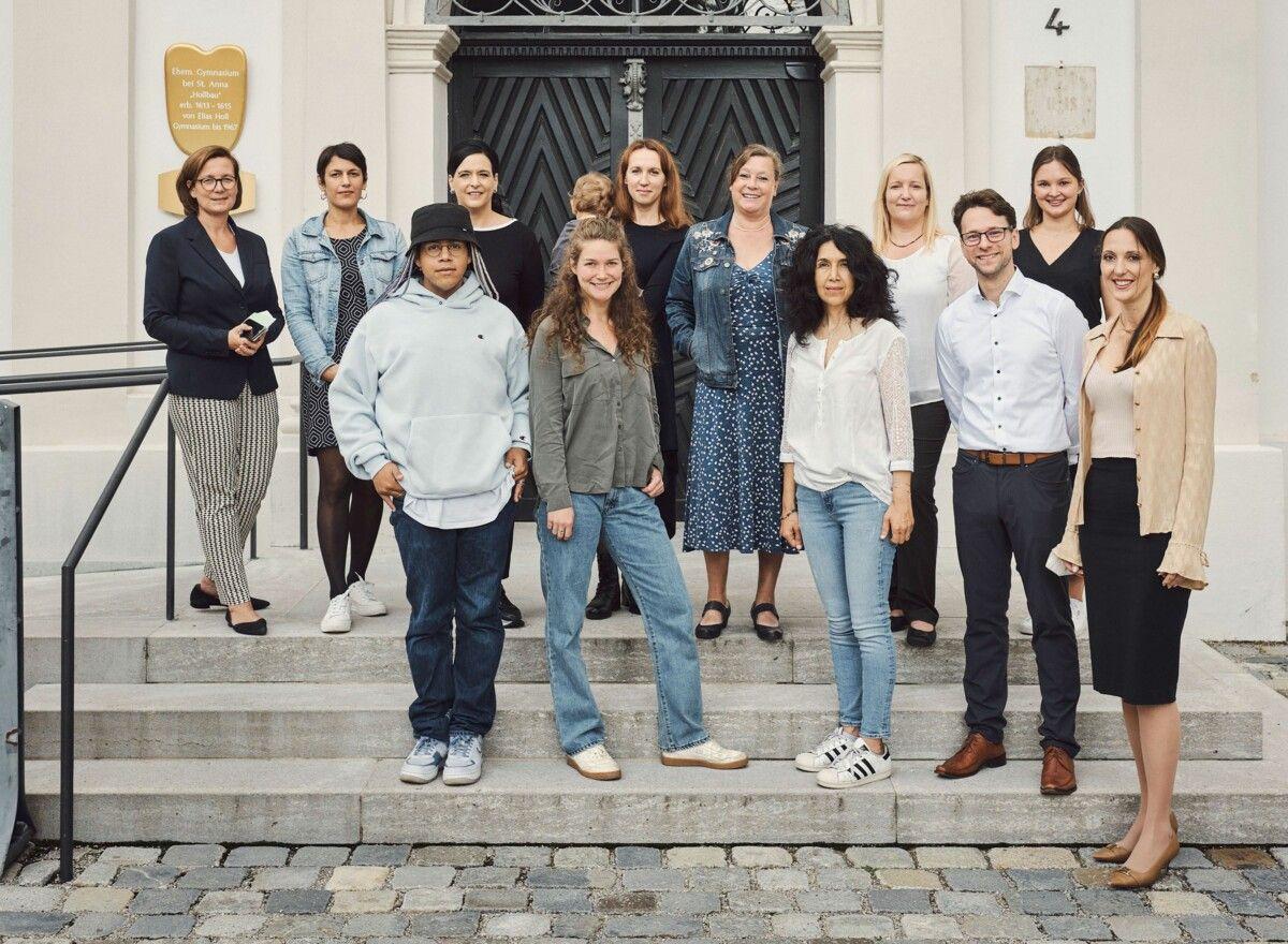 2021 Die Augsburger Role Models Und Partner Des Bildungsprogramms C Florian Generotzky1